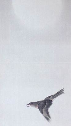 朧月杜鵑図